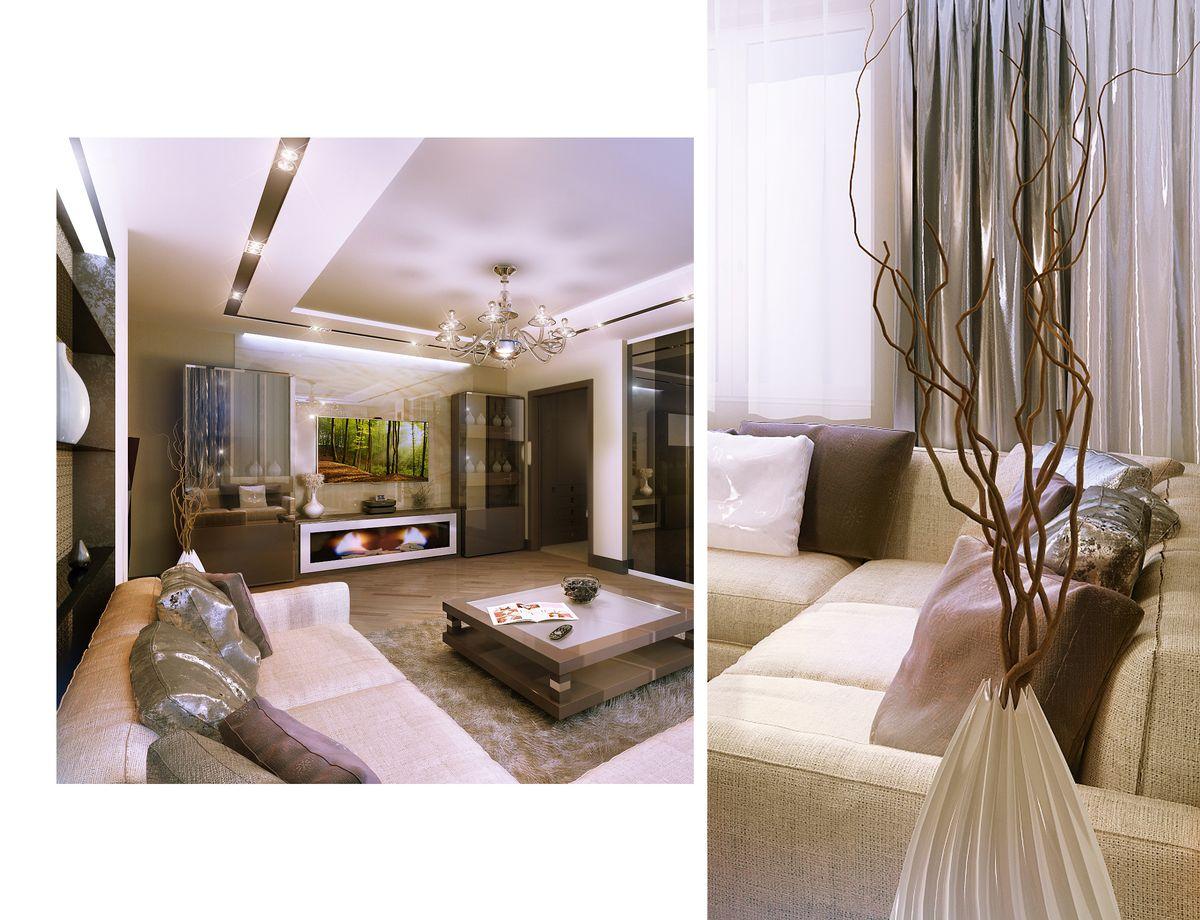 We art interior design apartment soft modern for Soft modern interior design